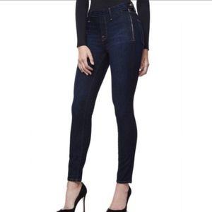 NWT Good American Side Zip High Waist Skinny Jeans